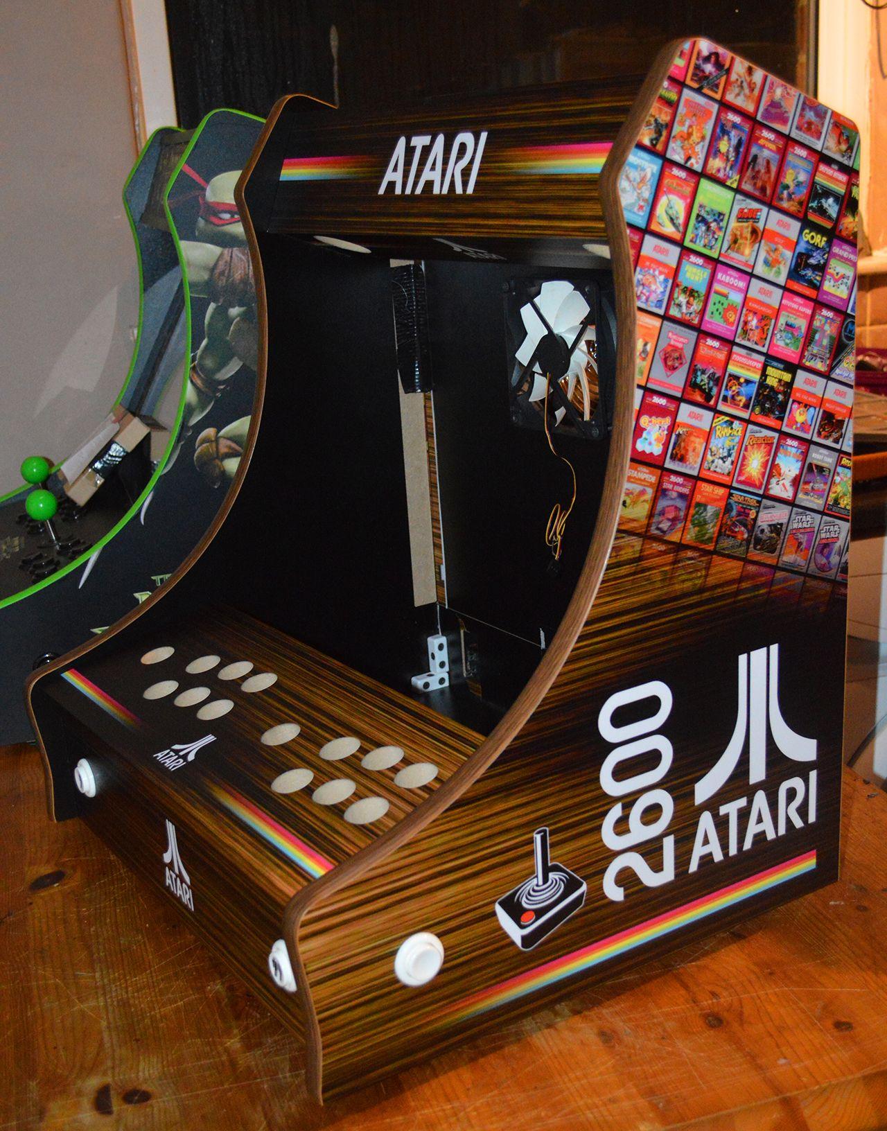 pingl par romain sautreuil sur geek bartop arcade. Black Bedroom Furniture Sets. Home Design Ideas