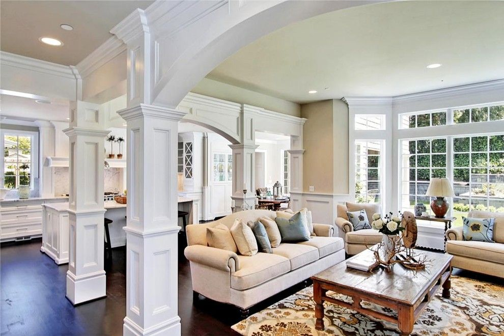 Houzz Home Design Decorating And Remodeling Ideas And Inspiration Kitchen And Bathroom Design Traditional Family Rooms Family Room Family Room Design #small #living #room #houzz