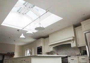 Keylite Flat Roof Apex Windows