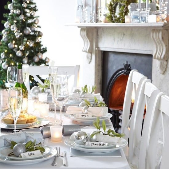 Christmas Table Setting Ideas Uk.Christmas Table Setting Design Ideas Navidad Christmas