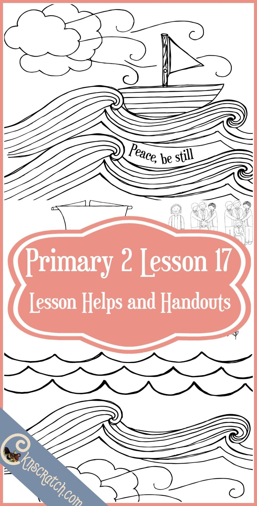 Lesson 17: The Priesthood Helps Me   Pinterest   Primary lessons ...
