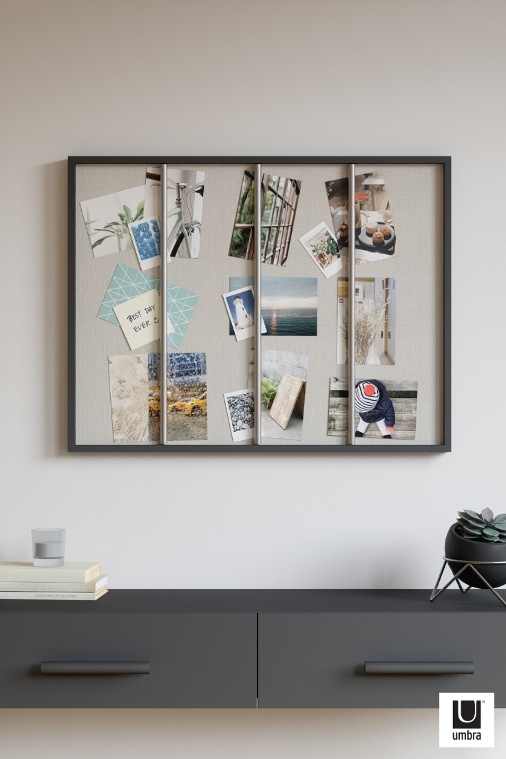 Umbra Tucker Photo Display and Wall Decor Black Wall Art for Home Office or Dorm