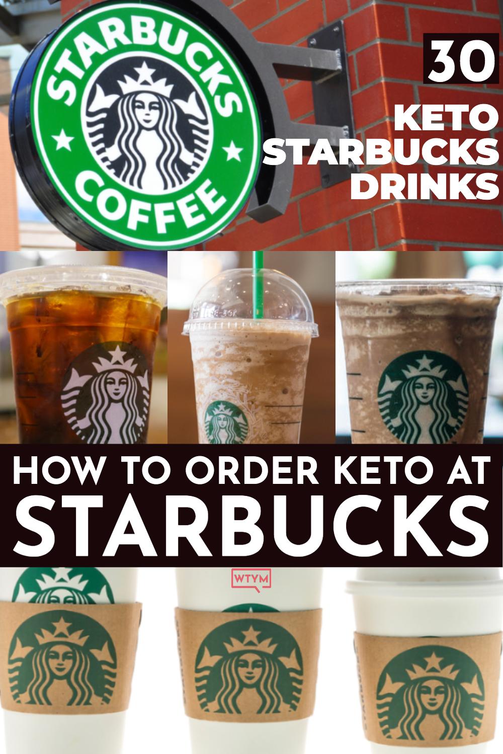 30+ Ways To Order Keto Drinks From Starbucks [Starbucks