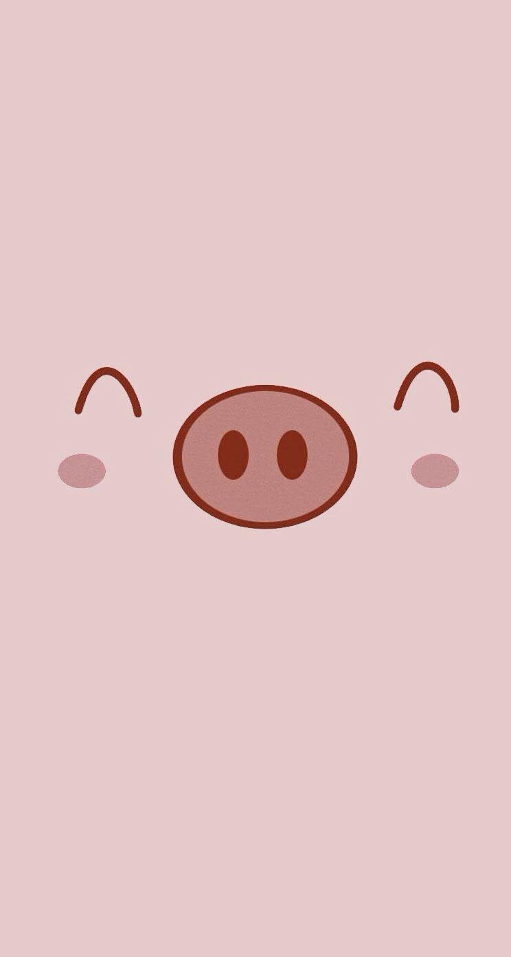 Lovely Pig Pig Wallpaper Cartoon Wallpaper Pig Cartoon Cool kawaii cute pig wallpaper hd images