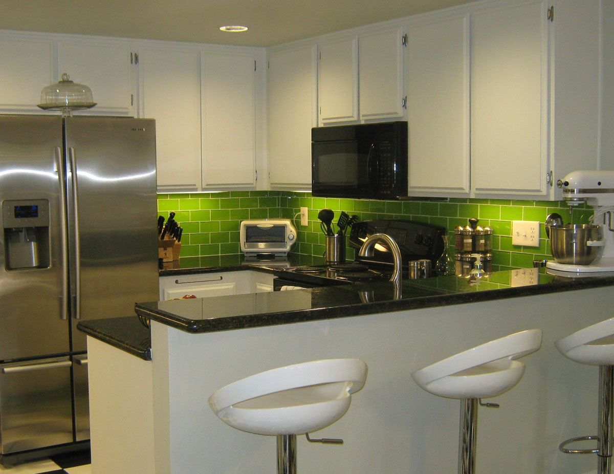 Bamboo Backsplash Kitchen Backsplash Tile Including Glass Mosaic Tile