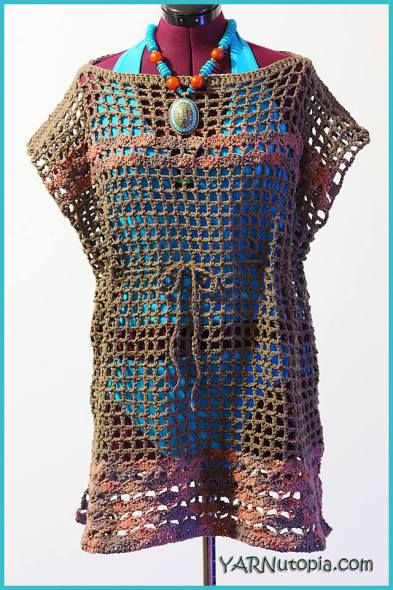 Beach cover the web of our life is a mingled yarn crochet tutorial beach swimsuit cover up dt1010fo