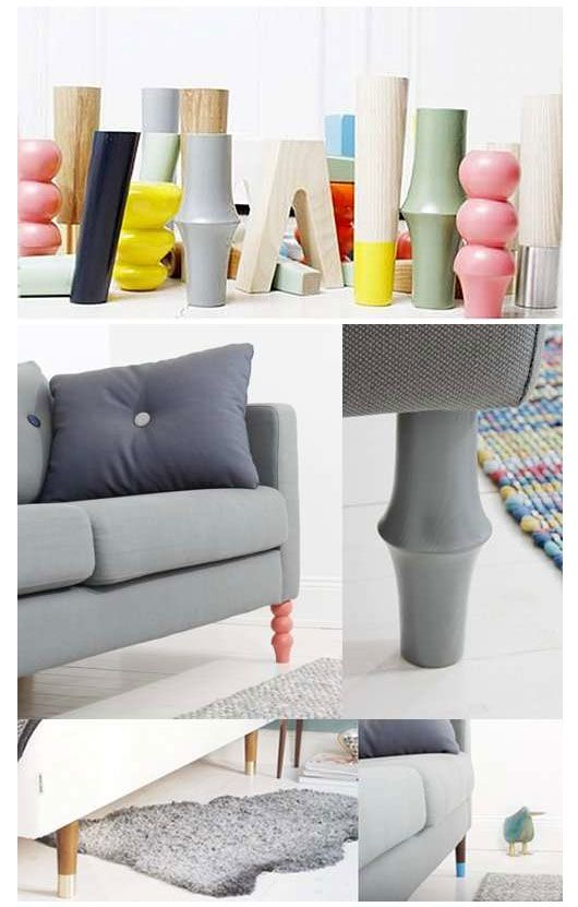 Pin By How Are You Sweden On Interior Design Pretty Pegs Ikea Legs Furniture
