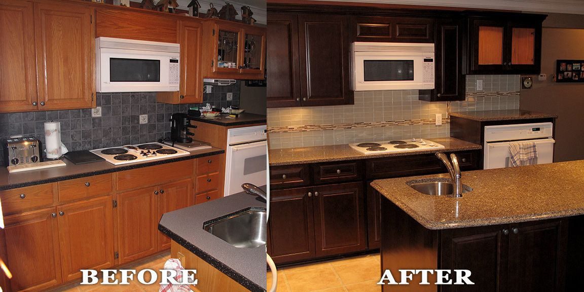 kitchen reface by kitchen solvers surry bc refacing is a great way - Kitchen Solvers