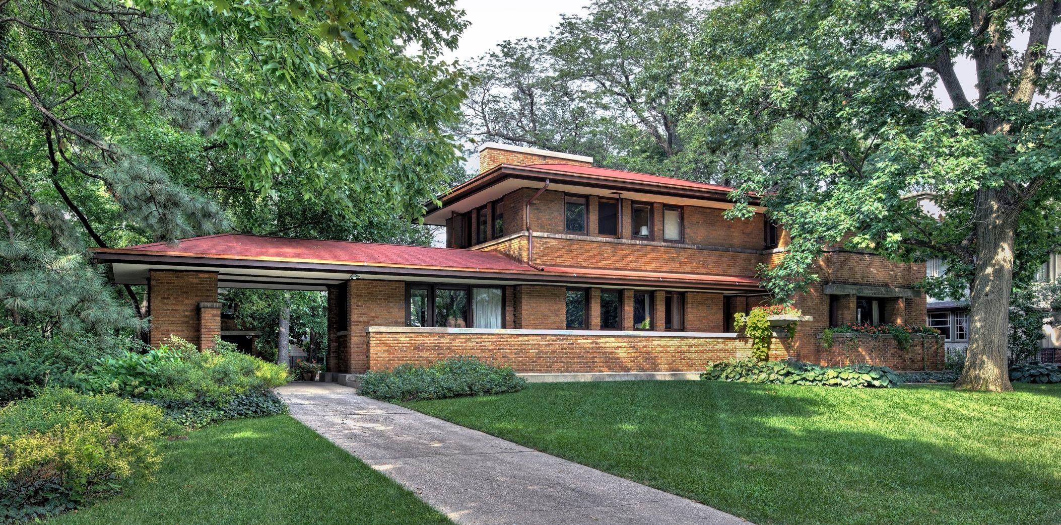 Frank Lloyd Wright 1867 1959 Adams Homes Frank Lloyd Wright