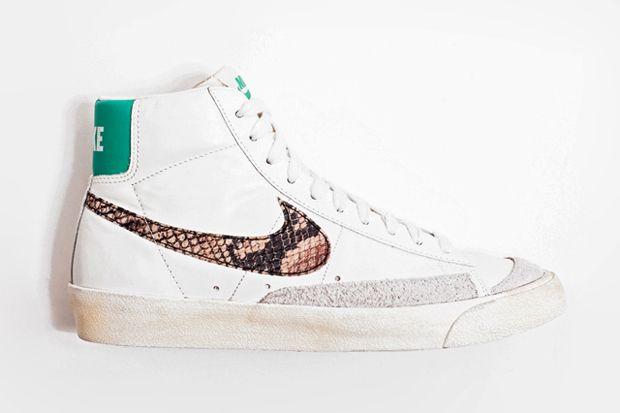 """designer fashion 81863 94c7e Nike Blazer Mid 77 Premium Vintage """"Snakeskin"""""""