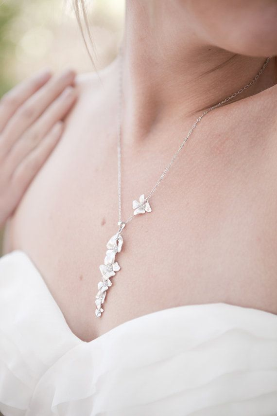 Fleur Charm Personalized customized gift bird nature flower floral garden minimal minimalist wedding love bridesmaid sterling silver gold