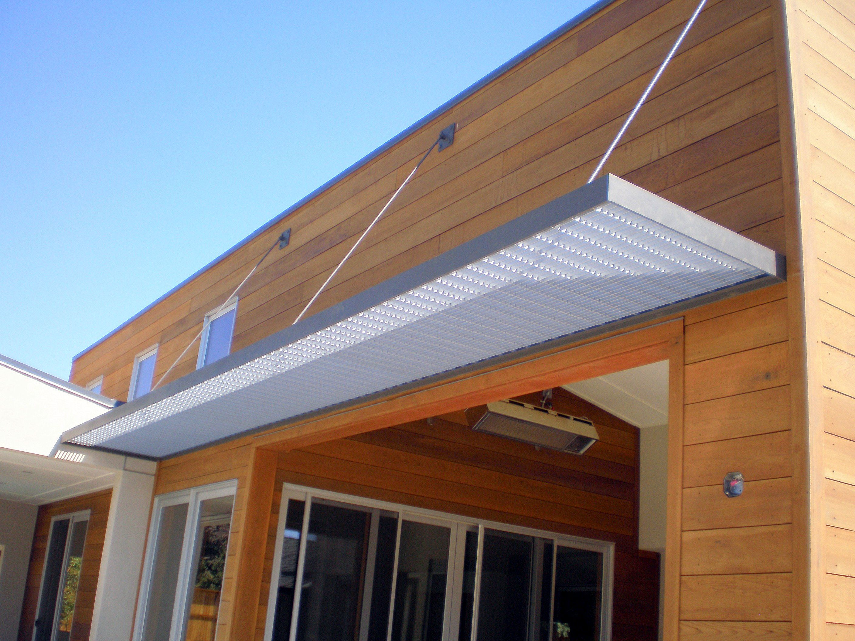 adjustment for metal door awnings | awning canopy designs | our