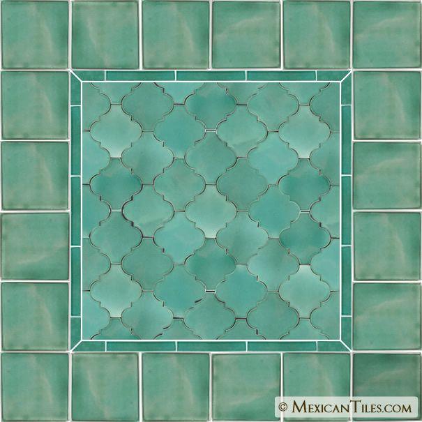 Mexican Tile Light Green Andaluz