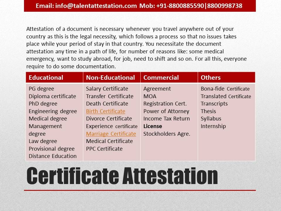 Pin By Talent Attestation On Embassy Certificate Attestation In