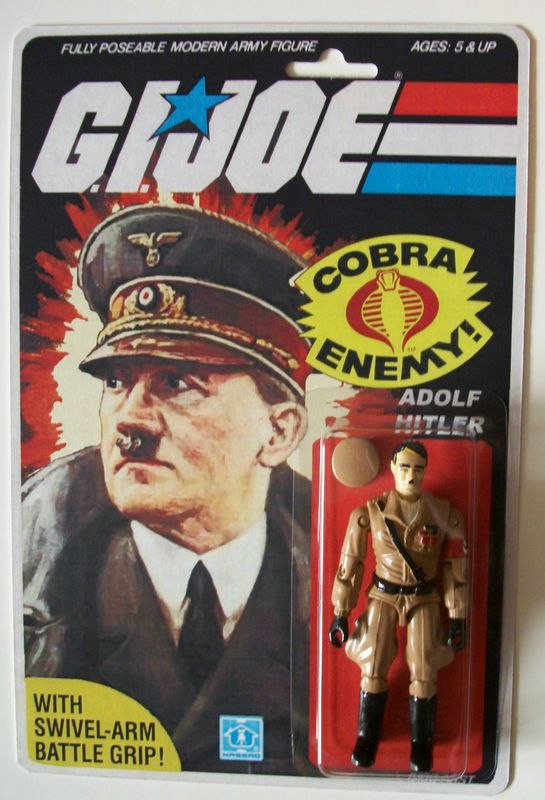 G.I. Joe figure - Adolf Hitler - Popsfartberger