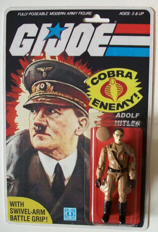 G.I. Joe figure - Adolf Hitler - Popsfartberger