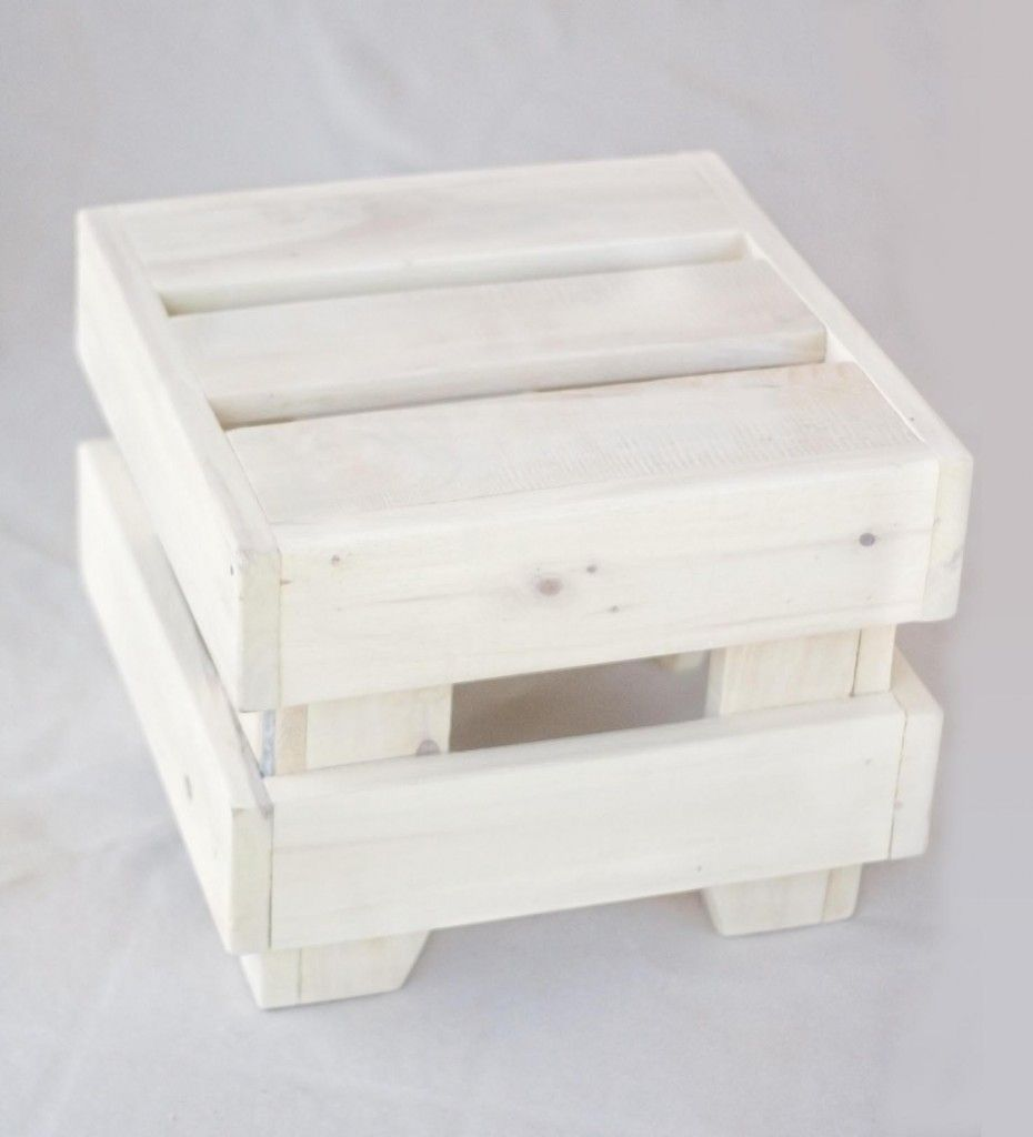 Pouf con cajas de madera | Furniture | Pinterest | Terrassen ...