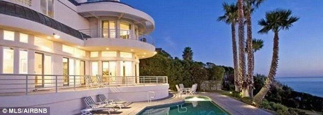 Not Your Average Al The White Five Bedroom Mansion Is In A Gated Community