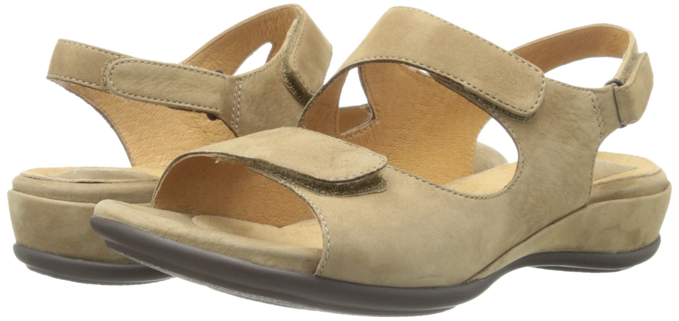 Clarks Artisan Womens Sarasota Quarter Strap SandalMushroom6.5 XW * Check  out this great product. (This is an affiliate link and I receive a  commission for ...