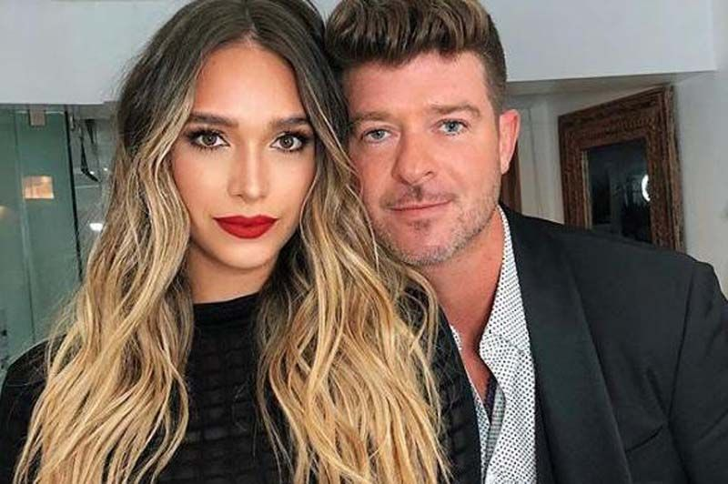 Robin Thicke April Love Geary Expecting Second Daughter Robin Thicke April Love Geary Lady Danger