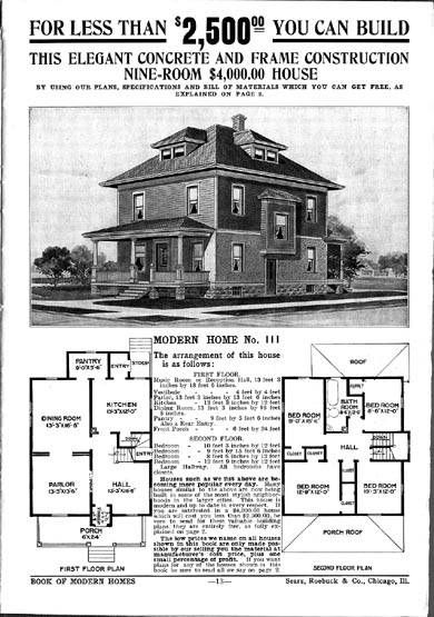 American Foursquare Floor Plans Sears The Chelsea Square House Plans Four Square Homes Sears Catalog Homes