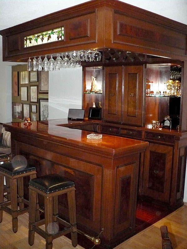 Mobiliario en madera y barras de madera carpinteria a - Barra de bar madera ...