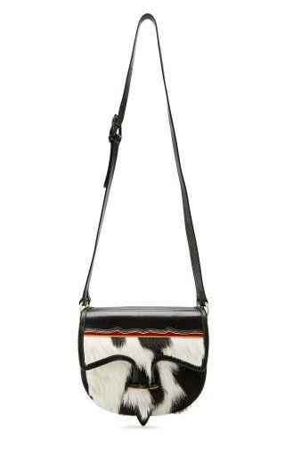 Tory Burch propone un tipico carriel paisa colombiano para #fw14 y lo llama 'Gaucho Large Flap bag'