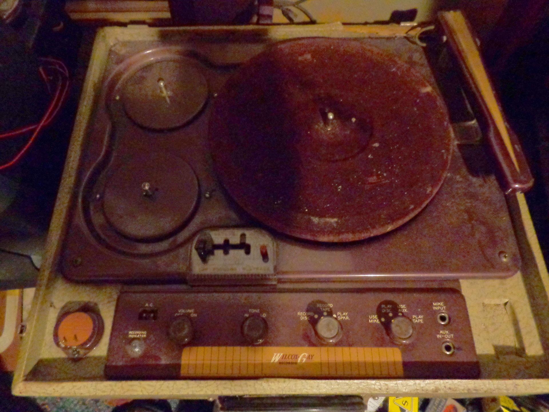 1946 cut gay orginal phono record recrodio wilcox