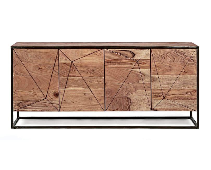 Sideboard egon 4 doors 175 x 76 cm MUZZA