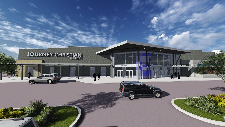 Journey Christian Church Church Design Architecture Church Building Design Contemporary Church Design