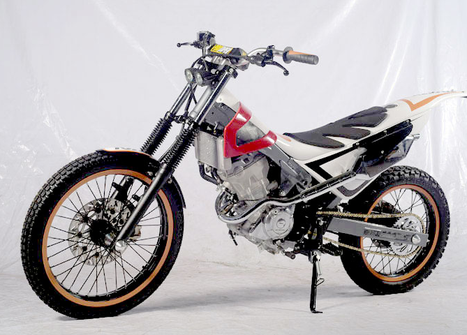 Modifikasi Honda Sonic 150 R Trail Honda Desain Dan Motor