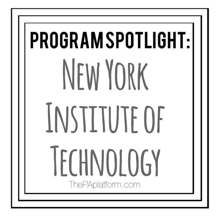 Physician Assistant Programs In Ny >> Program Spotlight New York Institute Of Technology Pa