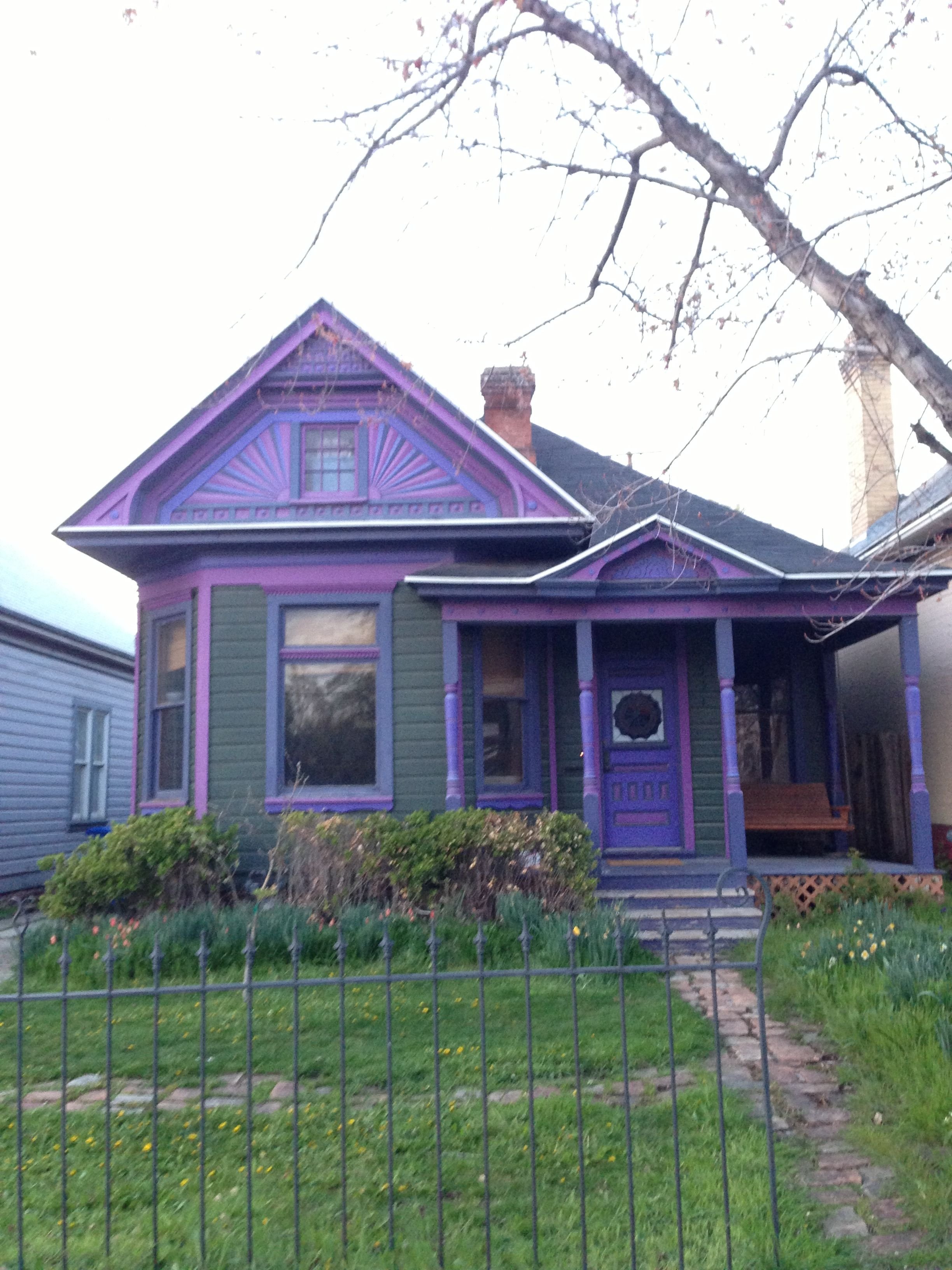 Purple house!!!!!!!