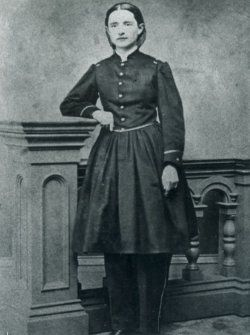 pinner writes: Mary E. Walker, M.D.: First woman to receive the Congressional Medal of Honor (Civil War) FIERCE!