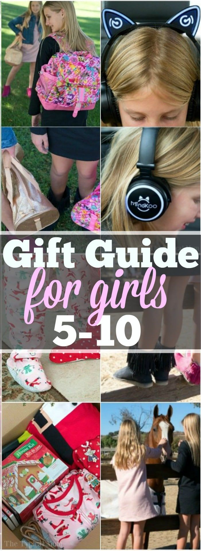 heres the ultimate gift guide for girls 5 10 years old what girls want for christmas and their birthdays at that age thats fun and whats practical too
