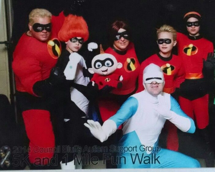 The Incredibles family With Syndrome u0026 Frozone!! : incredibles family costume  - Germanpascual.Com