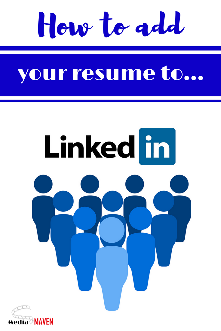 How To Add a Resume To Linkedin What is linkedin, Social