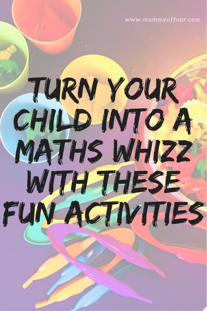 Turn Your Child Into A Maths Whizz With These Fun Games