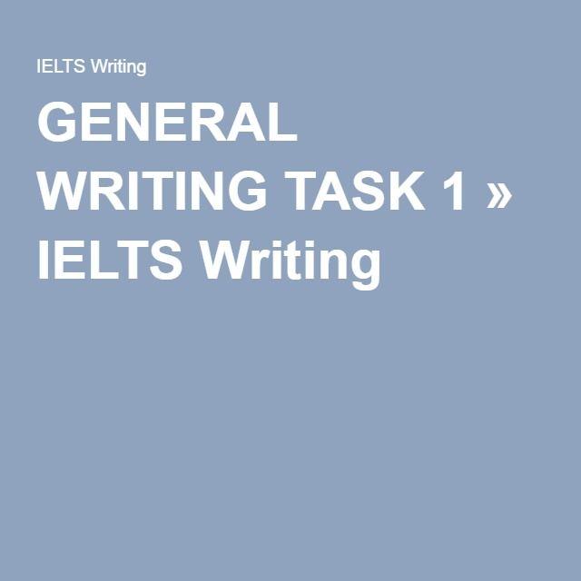 ielts general writing task 1 pdf