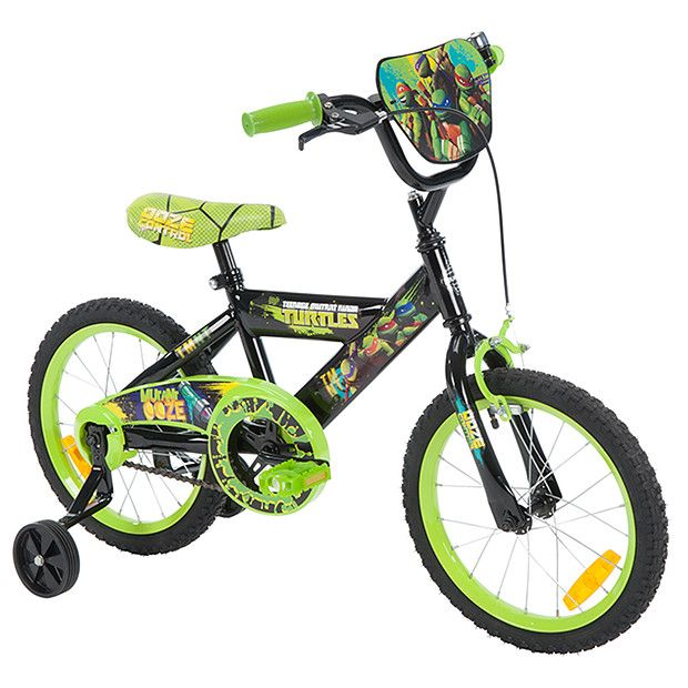 Teenage Mutant Ninja Turtles Bike 40cm Ninja Turtle Bike