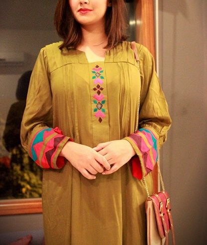Maxi dresses with sleeves pakistani 2018 kurti