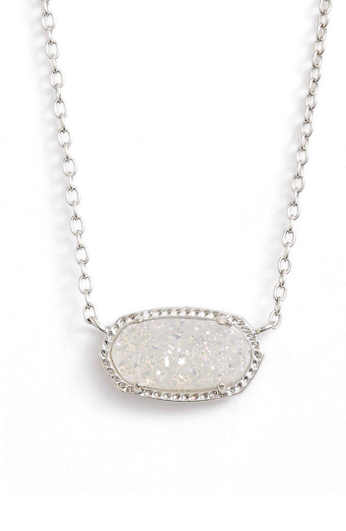 Elisa pendant necklace iridescent pendants and kendra for Kendra scott fine jewelry
