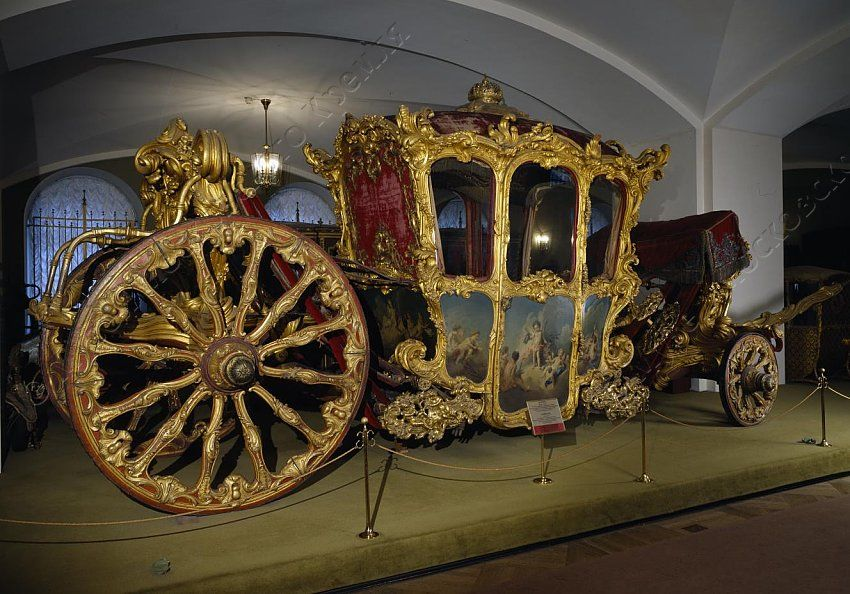 Four Person Carriage   Crafted by A Drilerosse   France; Paris   1753-1754…