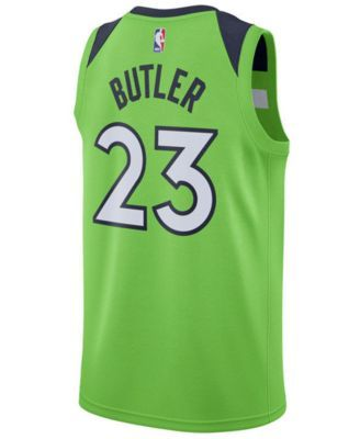 e5dc89d2a92 Nike Men s Jimmy Butler Minnesota Timberwolves Statement Swingman Jersey -  Green 3XL