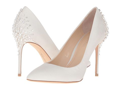 Imagine Vince Camuto Olive Ivory Zappos Com Free Shipping Both Ways Bride Shoes Wedding Shoes Bridal Shoes