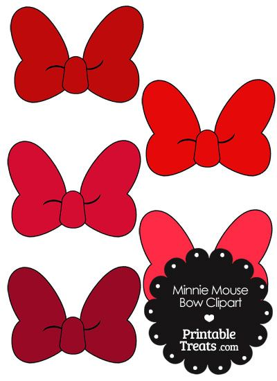 photograph regarding Printable Minnie Mouse Bows identified as Minnie Mouse Bow Clipart within just Hues of Purple against