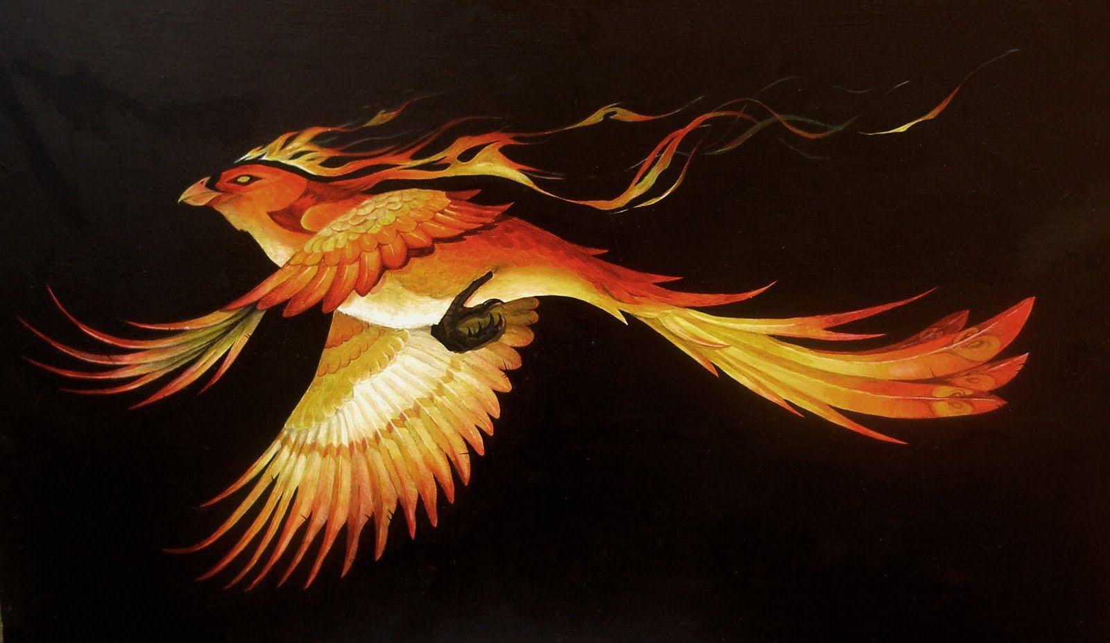 Поздравления, картинки птица феникс настоящей