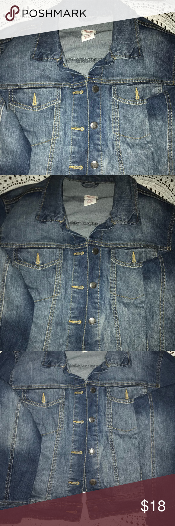 3d842bbe133d8 Jean Jacket XXL MOSSIMO SUPPLY COMPANY Size XXL JEAN JACKET Wear many ways  with anything Mossimo