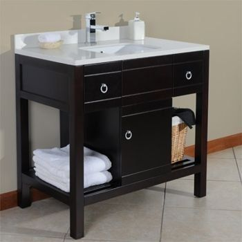 Valore 915 36-inch Bath Vanity-Solid Wood with Quartz Stone Vanity