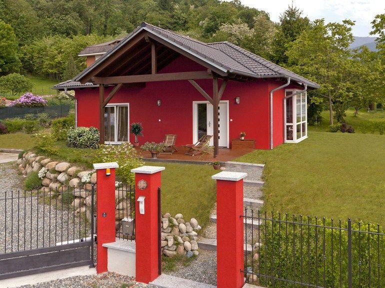 Casa in legno casa mia 85 linea casa mia by spazio for Idee di casa mia